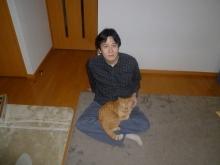 柳田院長と猫