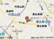 恵比寿美容外科の地図