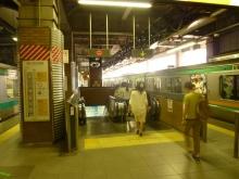 埼京線や湘南新宿ラインを利用した場合の西口に降りる出口